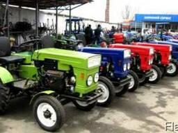 Міні трактор DW 120 т - фото 2