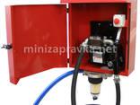 Мини АЗС в метал. ящике 220В 60л/мин с насосом РО2 для ДТ - фото 5