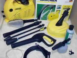 Минимойка (автомойка) Karcher K2. 01 с доп. аксессуарами