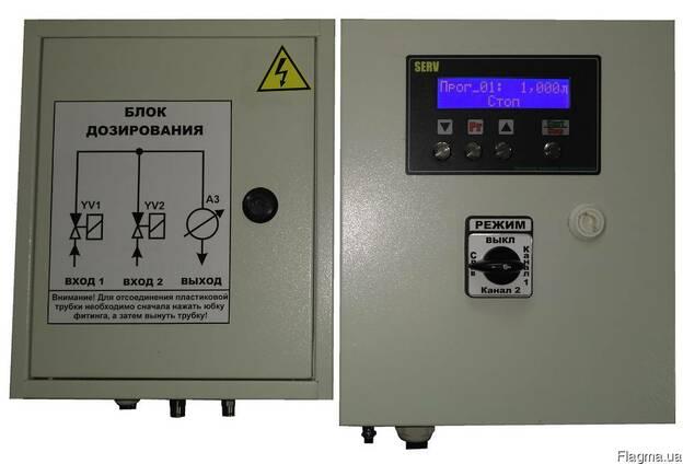 Многоканальный дозатор жидких добавок SERV_WD