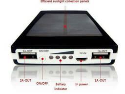 Мобільна сонячна зарядка POWER BANK SOLAR 15000ma Павер Бенк
