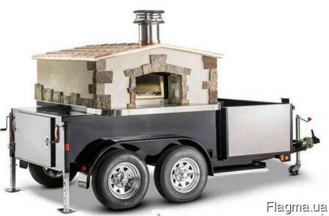 Мобильная печь пиццерия, пицца-печь