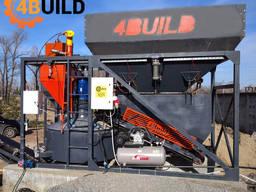 Мобільний бетонний завод 4Build COMPACT-20 від виробника