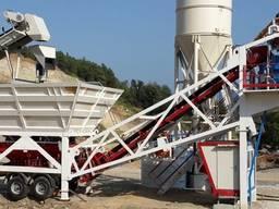 Мобильный бетонный завод Constmach Mobile 60 (60 м3/час)