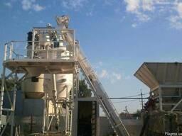 Мобильный бетонный завод СБ-241В производительность 42 м³/ч