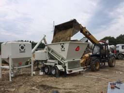 Мобильный мини бетонный завод
