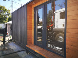 Мобильный офис из морского контейнера / Кафе из контейнера
