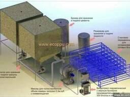 Мобильный завод по производству блоков из полистиролбетона