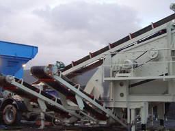 Мобильный завод для просеивания и мойки песка Constmach 200