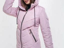 Модная демисезонная куртка (44-54), доставка по Украине