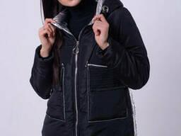 Модная молодежная женская куртка демисезонная 44-52 р . ..
