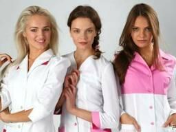 Модная женская медицинская одежда