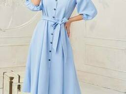 Модное воздушное женское платье (42-48р), доставка по. ..