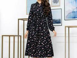Модное воздушное женское платье (42-50р), доставка по. ..