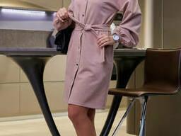 Модное замшевое женское платье(42-48 р) , доставка по Украине