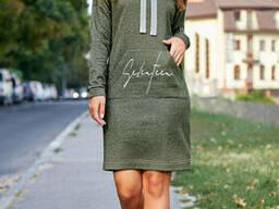 Модное женское спортивное платье 42-50 , доставка по Украине