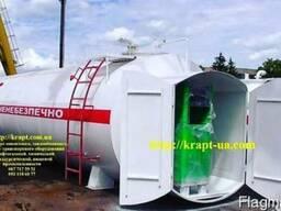Модульная АЗС для дизельного топлива 40 м.куб