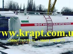 Модульная АЗС для двух видов топлива 20 м.куб с ТРК 80 л.мин