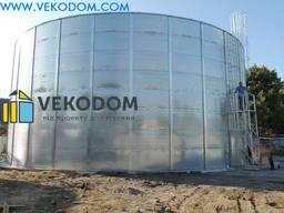 Емкость резервуар объем рвс 3000 м3 типовой проект