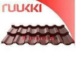 Модульная металлочерепица Finnera® Ruukki Purex RR 779 . ..