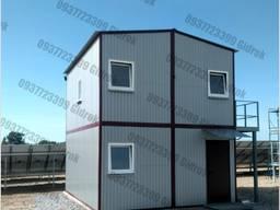 Модульное здание, бытовка, прорабская, офис, АБК