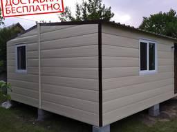 Модульный дом 4. 8 * 6 метров