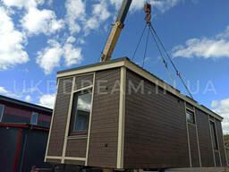 Модульный дом, модель 60 м. кв Ticabhouse