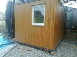 Модульный дом на понтонах