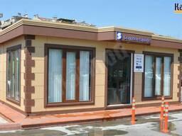 Модульные офисы и павильоны Кармод