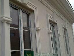 Молдинги из пенопласта, фасадный декор INT-DECO