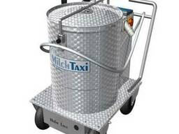 Молочное такси для телят с пастеризатором. (Германия).