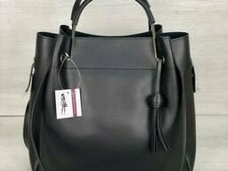Молодежная сумка Welassie Рамона черного цвета