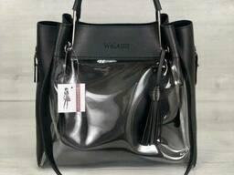 Молодежная сумка Welassie Рамона черного цвета c силиконом