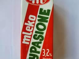 Молоко екстрапастеризоване випасьоне 3,2 % WYPASIONE 1л.