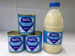 "Молоко сгущенное с сахаром ""Віста"" 0. 37"