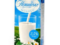 """Молоко ультра-пастеризованное ТМ""""Нежинское"""" 1л"""