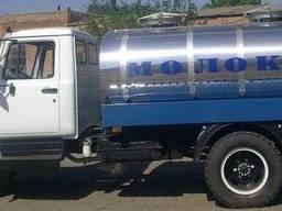 Молоковоз на шасси Газон