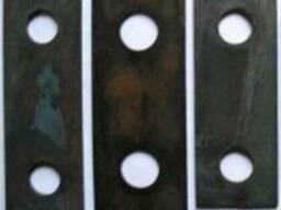 Молотки каленые зернодробилки ДМ 215*50*10 Ст65Г каленый