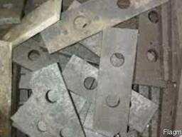 Молоток 110*50*5 (комплекти і врізнобій) дробарок КДУ (КД)-2