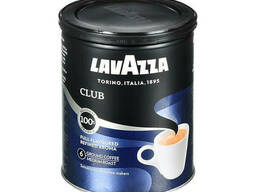 Молотый кофе Lavazza Espresso Club 250 грамм в жестяной. ..