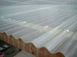 Монолітний хвильовий полікарбонат Suntuf Uv Embossed,35% 0,8 х 1060 х 6000