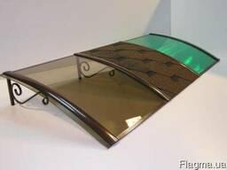 Монолитный поликарбонат зеленый