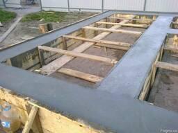 Монолитные и бетонные работы, весь комплекс.