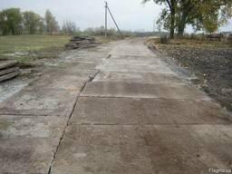 Монтаж дорожных плит , укладка плит дорожных, демонтаж плит - фото 3