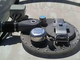 Монтаж дыхательных клапанов на цистерну, клапан дыхательный