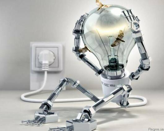 Монтаж электрики, проводки, кабелей.