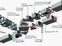 Монтаж энергосберегающей вентиляции