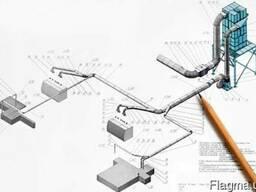 Монтаж канализации, электрических сетей, вентиляции