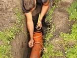 Монтаж канализации и водопровода услуги сантехника - фото 1