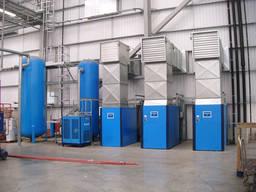 Монтаж оборудования (пневмолиний и пневмомагистралей)